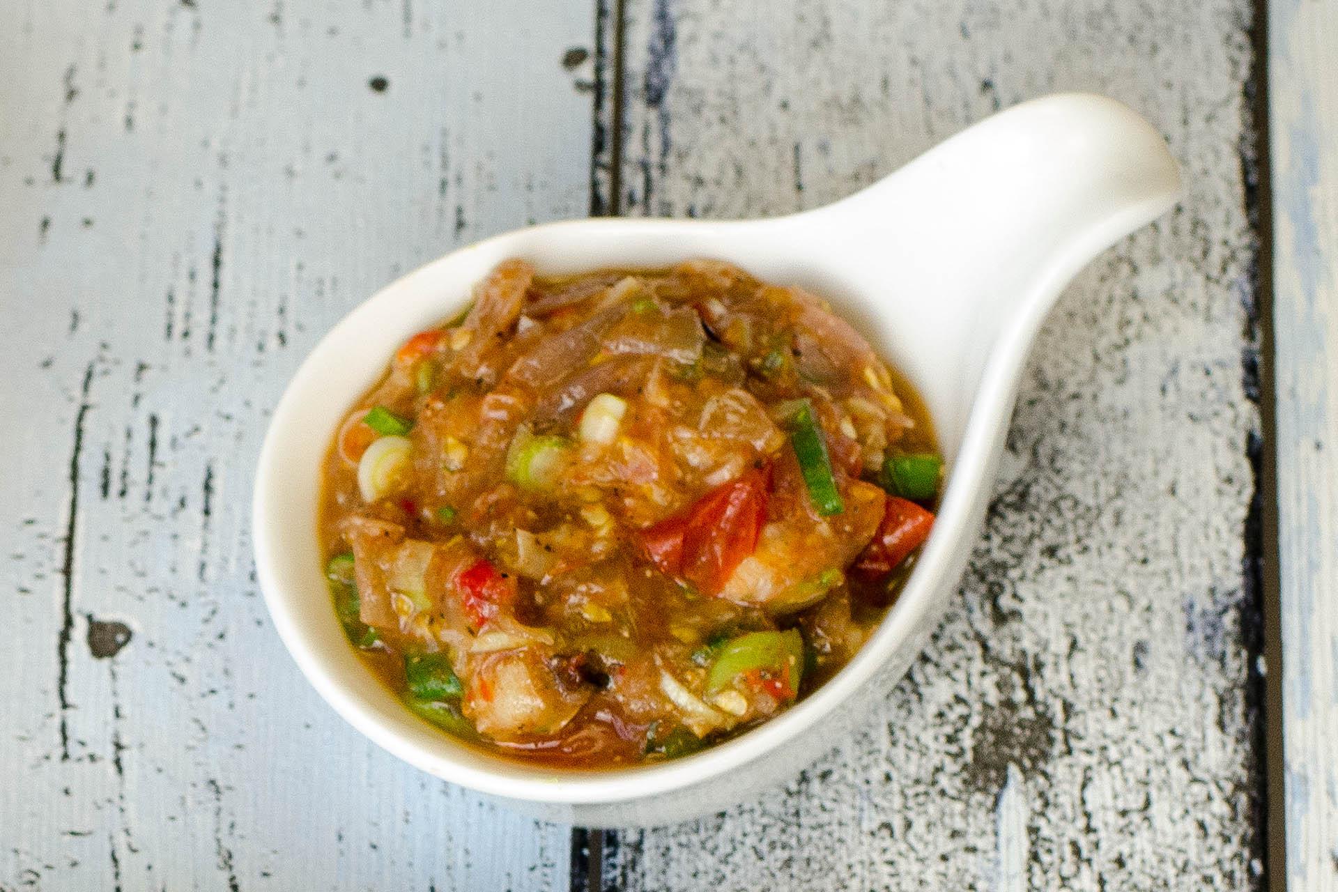 Laotischer Tomaten Dip Jeow Mak Len